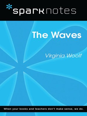 cover image of The Waves (SparkNotes Literature Guide)