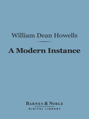 cover image of A Modern Instance
