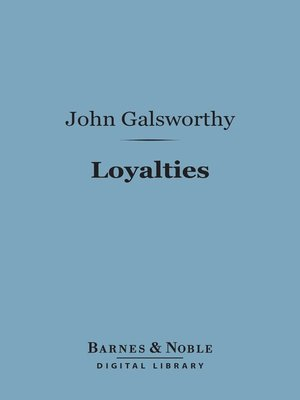 cover image of Loyalties