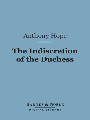 cover image of The Indiscretion of the Duchess