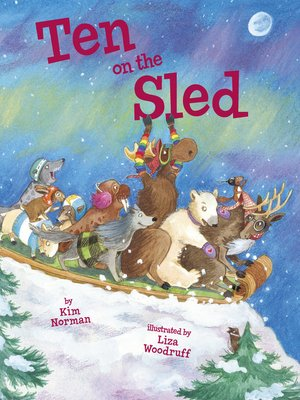 cover image of Ten on the Sled