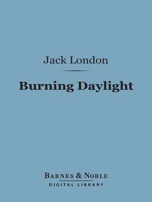 cover image of Burning Daylight