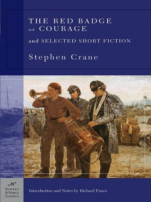 cover image of The Red Badge of Courage and Selected Short Fiction