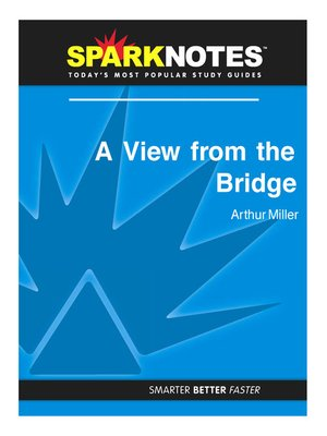 cover image of A View from the Bridge (SparkNotes Literature Guide)