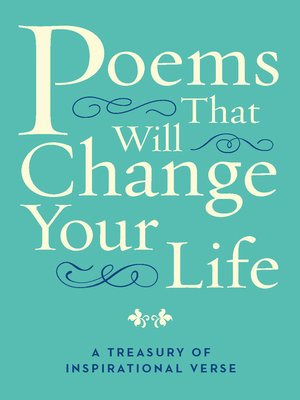 cover image of Poems That Will Change Your Life