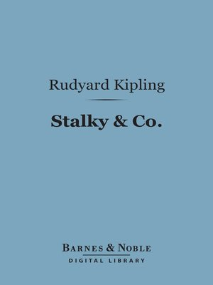 cover image of Stalky & Co.