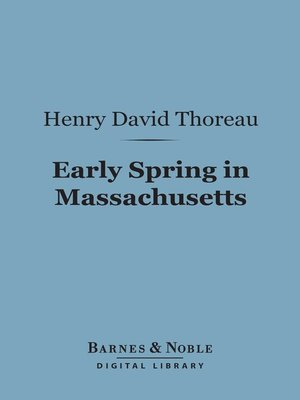 cover image of Early Spring in Massachusetts