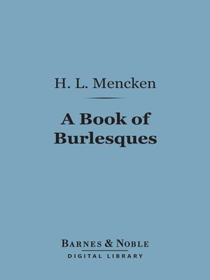cover image of A Book of Burlesques