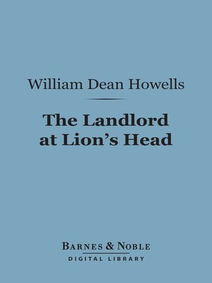 cover image of The Landlord at Lion's Head