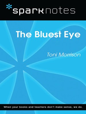 cover image of The Bluest Eye (SparkNotes Literature Guide)