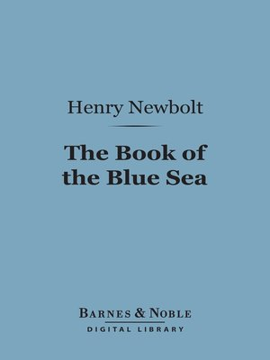 cover image of The Book of the Blue Sea