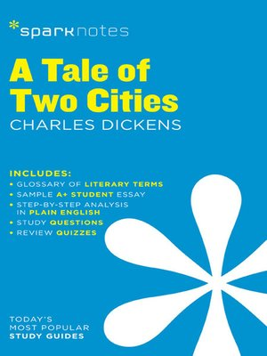 cover image of A Tale of Two Cities: SparkNotes Literature Guide