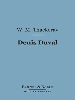 cover image of Denis Duval