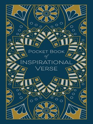 cover image of Pocket Book of Inspirational Verse