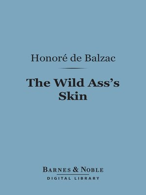 cover image of The Wild Ass's Skin