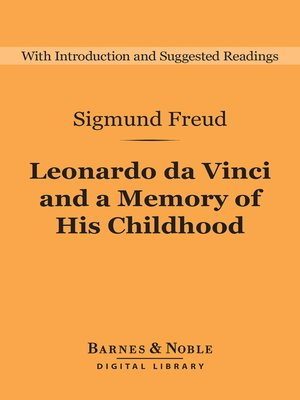 cover image of Leonardo da Vinci and a Memory of His Childhood