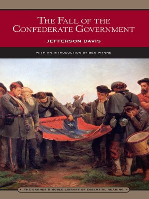 cover image of The Fall of the Confederate Government