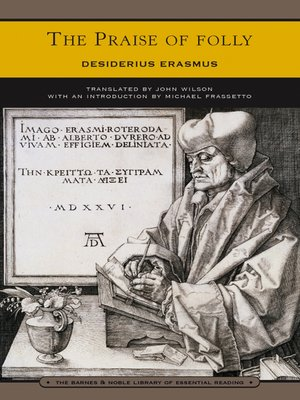 cover image of The Praise of Folly