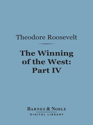 cover image of The Winning of the West