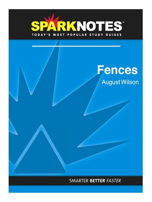 cover image of Fences: SparkNotes Literature Guide