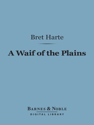 cover image of A Waif of the Plains
