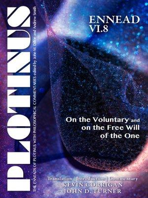 cover image of PLOTINUS, Ennead VI.8
