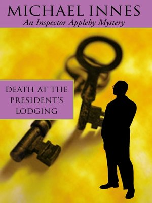 cover image of Death at the President's Lodging
