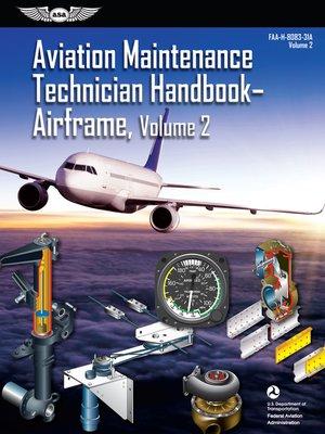 cover image of Aviation Maintenance Technician Handbook