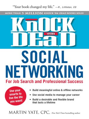 cover image of Knock Em Dead—Social Networking