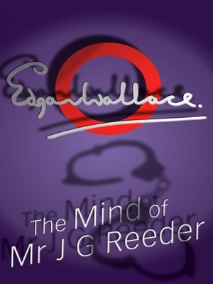 cover image of The Mind of Mr J G Reeder