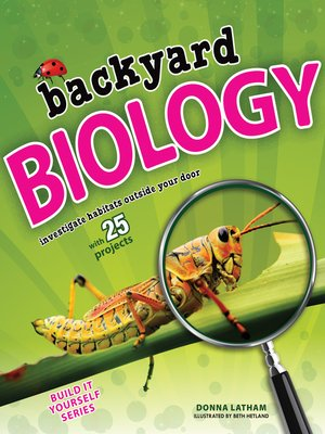 cover image of Backyard Biology