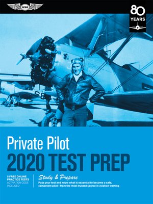 cover image of Private Pilot Test Prep 2020