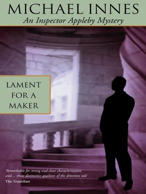 cover image of Lament for a Maker