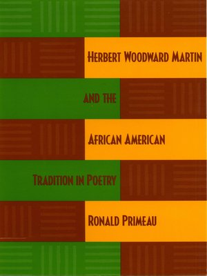 cover image of Herbert Woodward Martin and the African American Tradition in Poetry