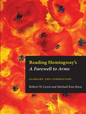 cover image of Reading Hemingway's Farewell to Arms