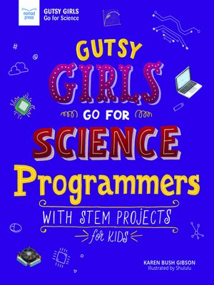cover image of Gutsy Girls Go For Science