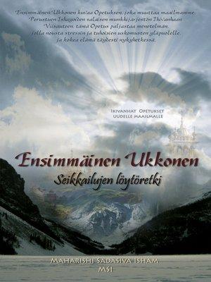 cover image of Ensimmäinen Ukkonen