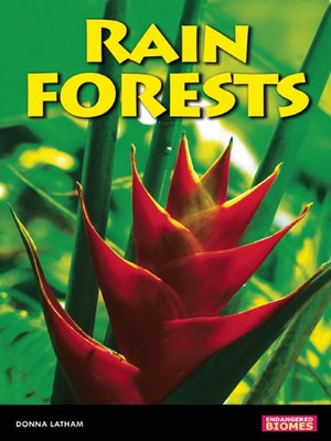 cover image of Rain Forests