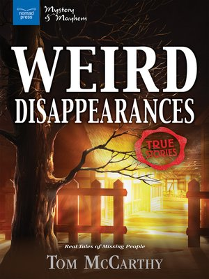 cover image of Weird Disappearances
