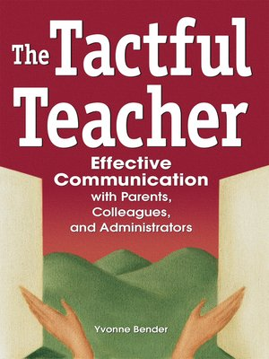 cover image of The Tactful Teacher