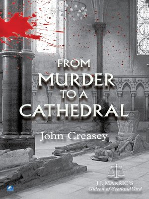 cover image of From Murder To A Cathedral