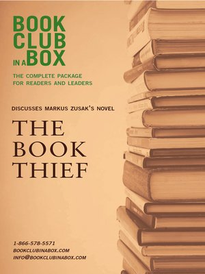 cover image of Bookclub-in-a-Box Discusses Markus Zusak's Novel, The Book Thief