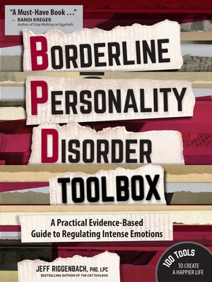 cover image of Borderline Personality Disorder Toolbox