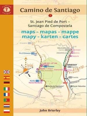cover image of Camino de Santiago Maps