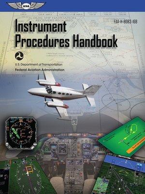 cover image of Instrument Procedures Handbook
