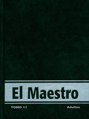 cover image of Vida Nueva El Maestro Adulto tomo 11