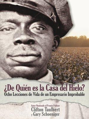 cover image of ¿De Quién el la Casa del Hielo?