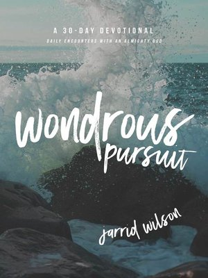 cover image of Wondrous Pursuit