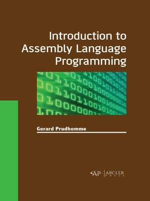 cover image of Introduction to Assembly Language Programming