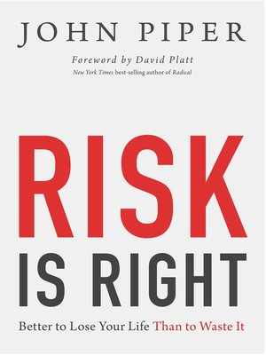 cover image of Risk Is Right